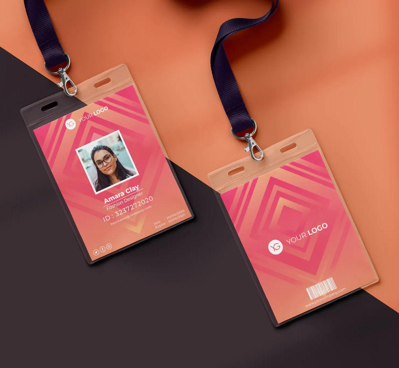 Creative Id Card Template Psd Ai Eps Id Card Template Cards Card Design