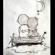 Hasil gambar untuk cute chibi couple hugging drawing