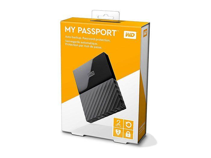 Wd My Passport 2tb External Hard Drive Got To Have It All Portable External Hard Drive External Hard Drive Hard Drive