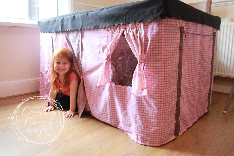 Foldable Table Tent idea