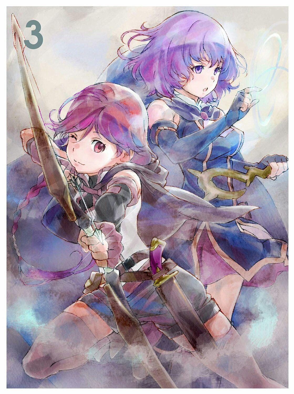 Grimgar of fantasy and ash anime manga anime cute