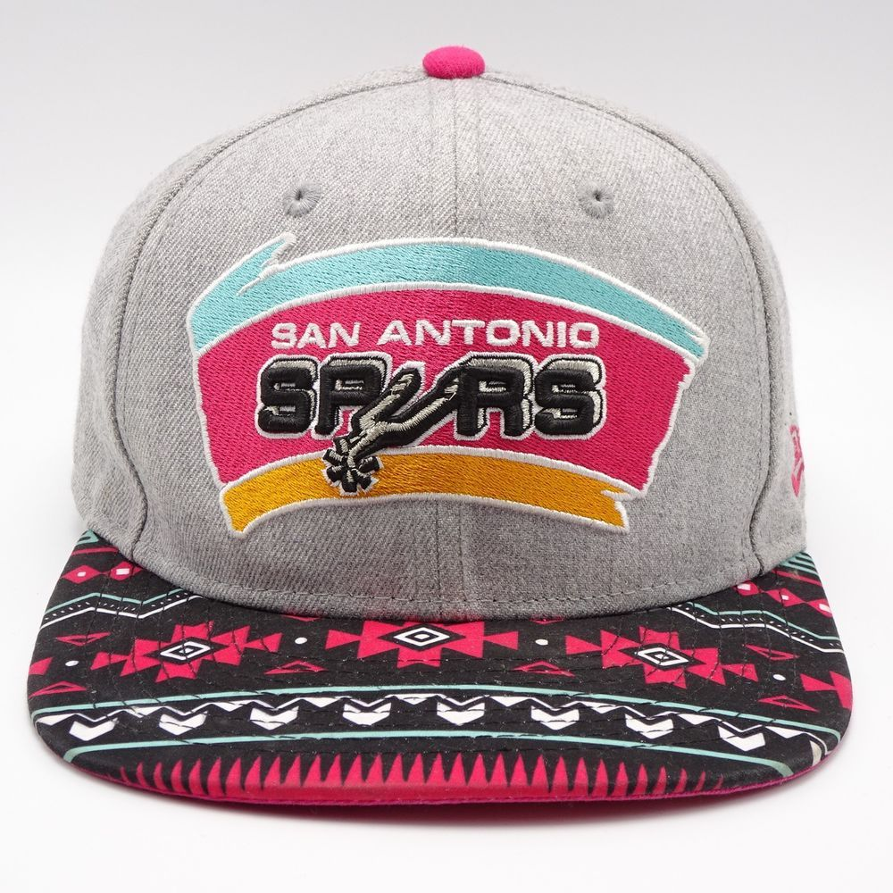 e0c7f71d1f7 San Antonio Spurs New Era 9 Fifty Snapback hat Hardwood Classics Southwest   NewEra  BaseballCap