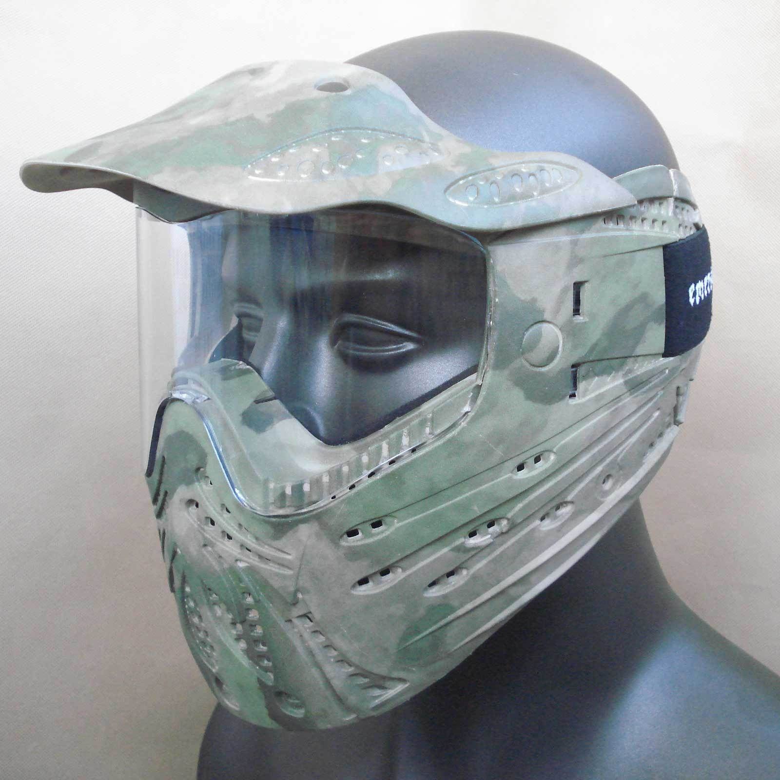 Camo Full Face Airsoft Goggle And Mask Airsoft full face