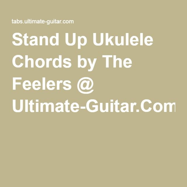 The Feelers Stand Up Ukulele Ukulele