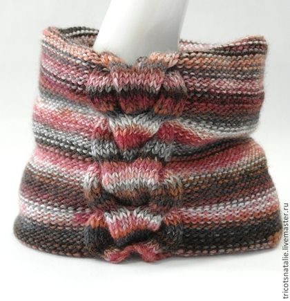 punto LIC LIC LIC lana mujeres de cuello bufanda-tubo luminoso LIC ...