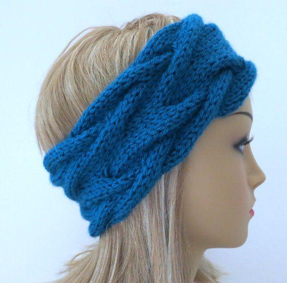 Hat Knitting Pattern, Headband Knitting Pattern, Ear warmer Knitting ...