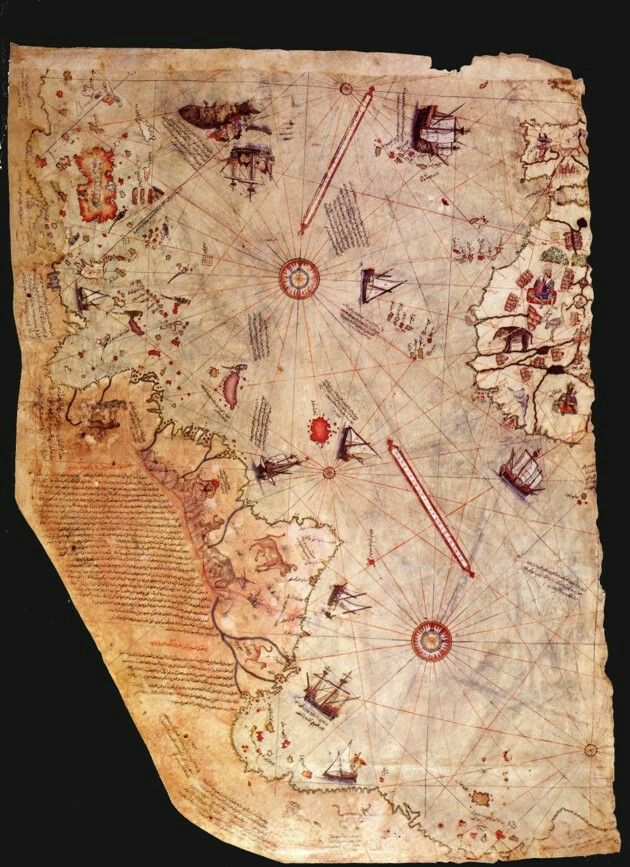 Age Of Empires 3 Africa Maps%0A Piri Reis Map The Piri Reis map shows the northern coastline of Antarctica  and it is