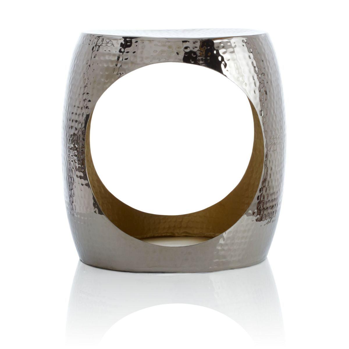 Beistelltisch Edel Metall Gehmmert Jetzt Bestellen Unter Moebelladendirektde Wohnzimmer Tische Beistelltische Uid03ea9ef7 1f0a 57e4 B3cf