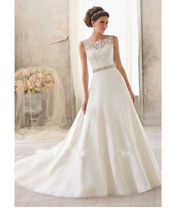 Wedding dress Vivien by Whitebridalrocks on Etsy   Wedding ideas ...