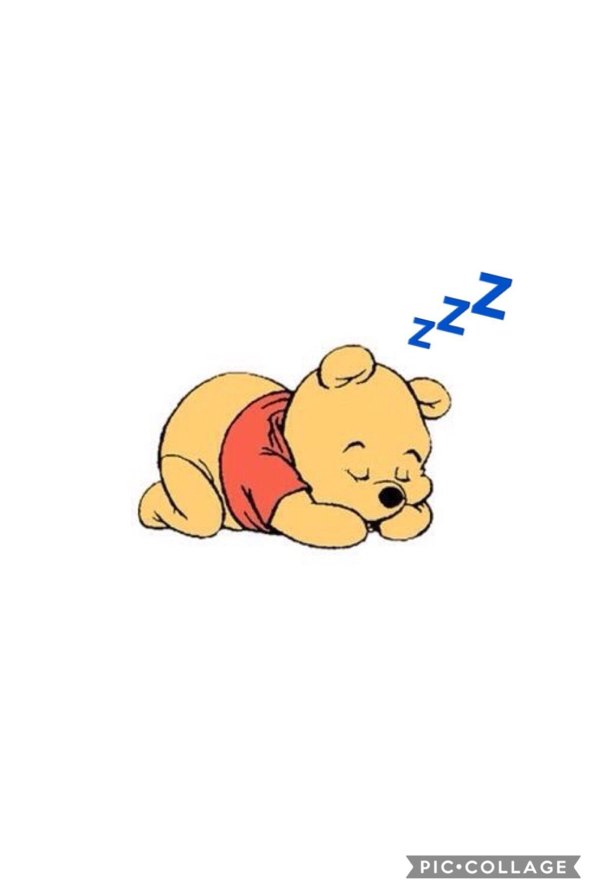Winniethepooh Zzz Sleep In 2019 Disney Wallpaper Intended For The Most Winnie The Pooh Sleeping Wallpaper Di 2020 Wallpaper Disney Kartun Gambar Lucu