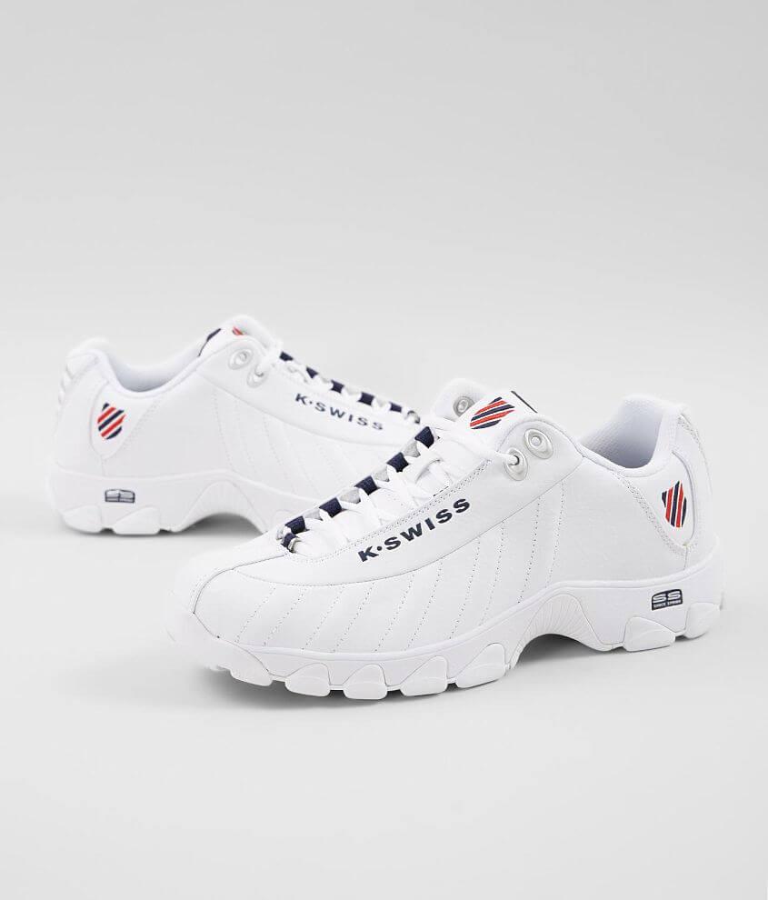k swiss leather sneakers