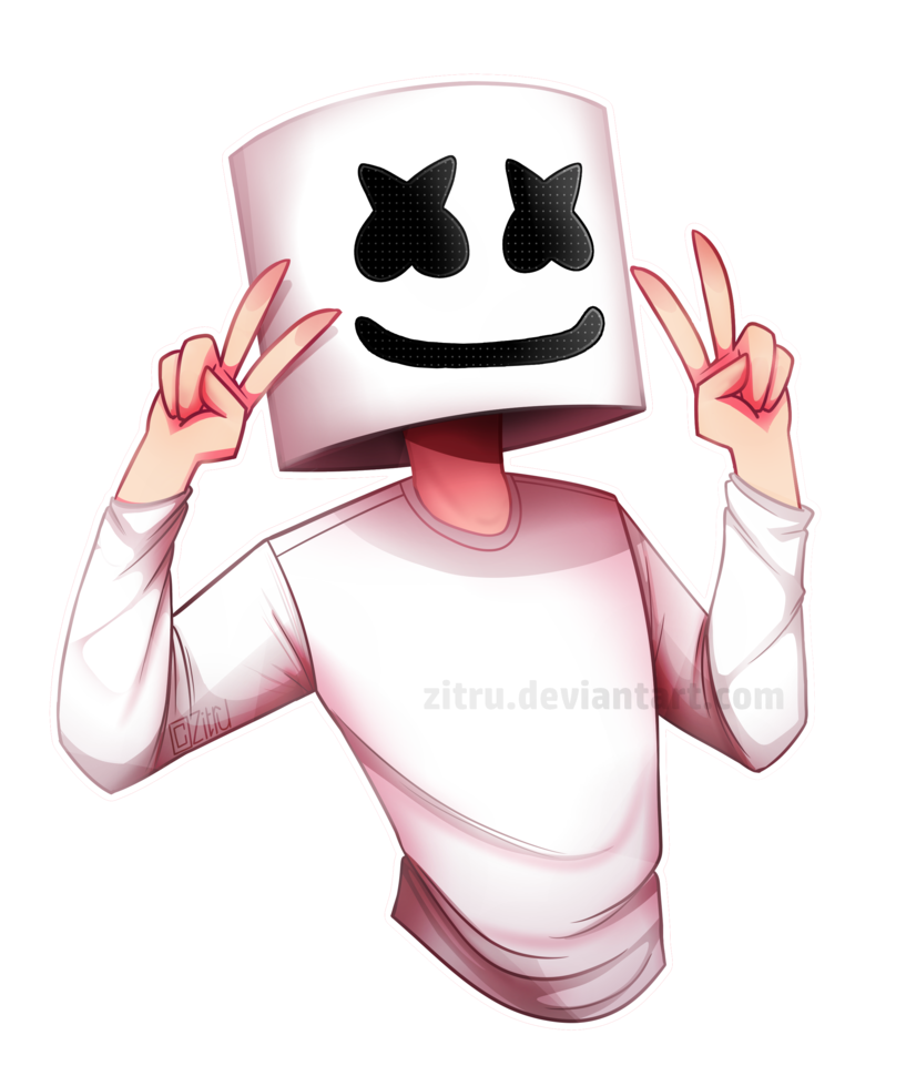 Marshmello By Zitru.deviantart.com On @DeviantArt