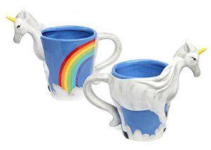 Amazon.com   1 X Unicorn Figural Mug: Coffee Cups & Mugs