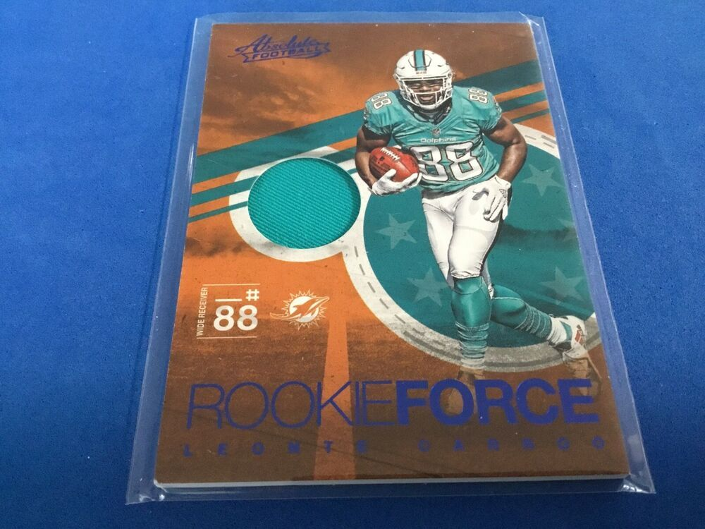 2016 absolute rookieforce leonte carroo miamidolphins in