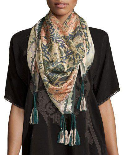 c238aedf Shiro Silk Georgette Scarf | *Neiman Marcus* | Designer scarves ...