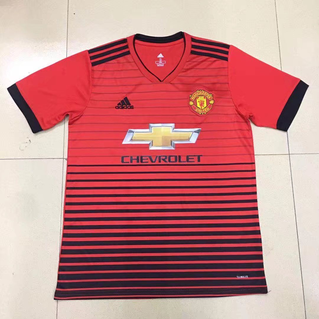 Manchester United Jersey 2018 19 Home Soccer Shirt Soccer Jersey Soccer Shirts Arsenal Jersey