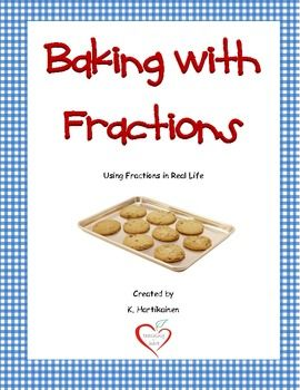 Baking with fractions using fractions in real life pinterest 275 baking with fractions using fractions in real life practice multiplying and dividing fractions with recipes forumfinder Images