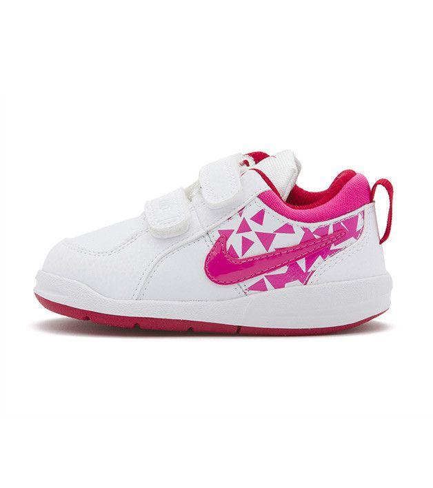 Nike Pico 4 TDV Toddler White/Pink, Kids Footwear, www.oishi-