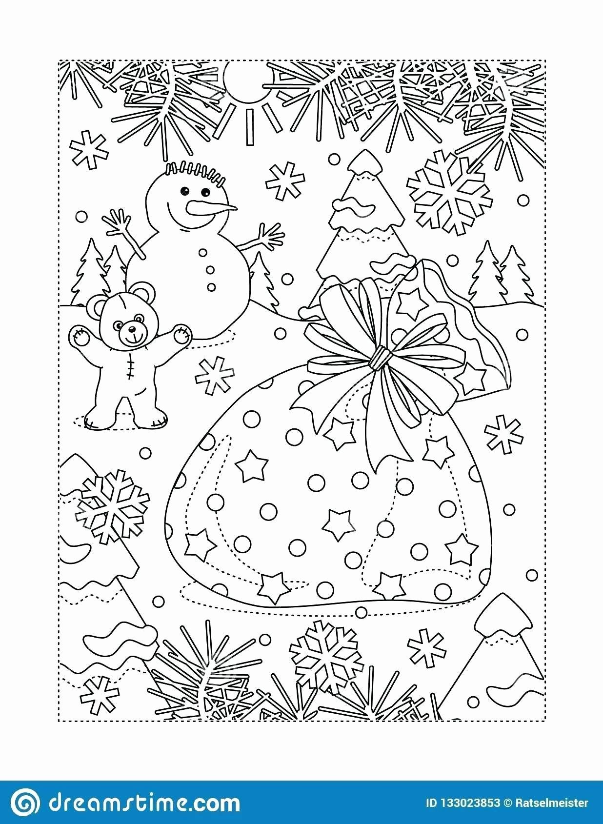 Holiday Coloring Activity Book Inspirational Printable Winter Holiday Coloring Pages Axialsheet [ 1689 x 1236 Pixel ]