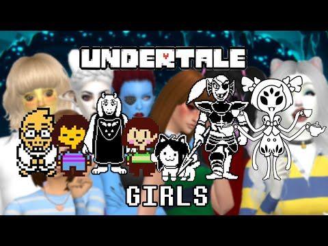 Sims 4 Cas Undertale Creating All Girls Sims 4 Sims Sims 4 Cas