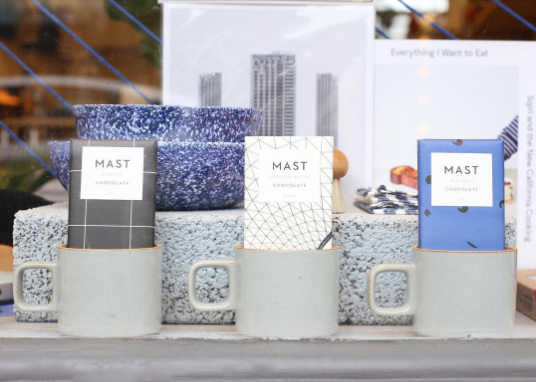 Thank you @NookShop UK for featuring our London Collection and timeless varieties such as Coffee and Sea Salt.