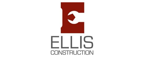 ellis logo construction logos pinterest construction logo