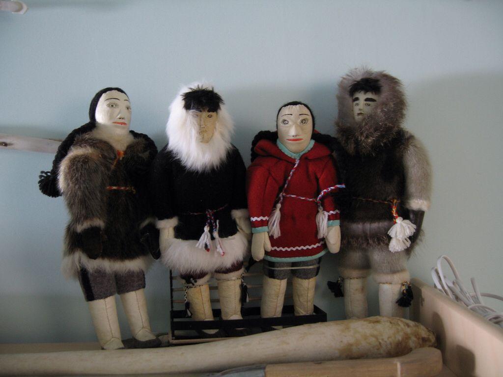 handmade inuit dolls indigenous dolls pinterest dolls