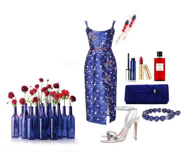 """MIDNIGHT BLUE"" by suninvirgo ❤ liked on Polyvore featuring Markarian, Prada, Hermès, Chico's and Clinique"