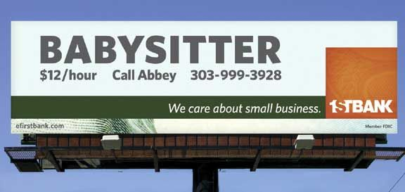 Bank Woos Small Businesses With Free Marketing Small Business Banking Guerrilla Advertising Small Business