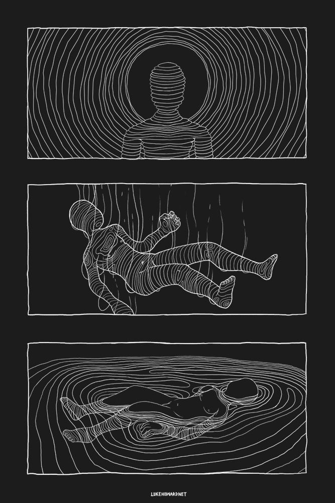 artist luke howard - sensory deprivation sequence #floattankexpericene #floatexperience