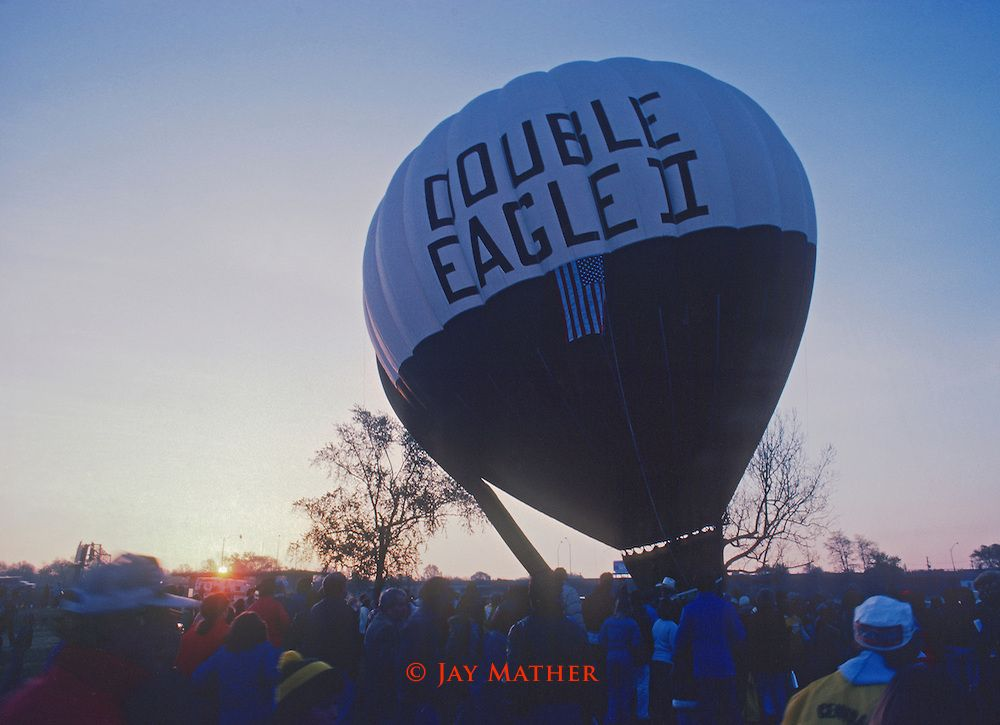August 17, 1978 - The first balloon, Double Eagle II, to cross the - double first