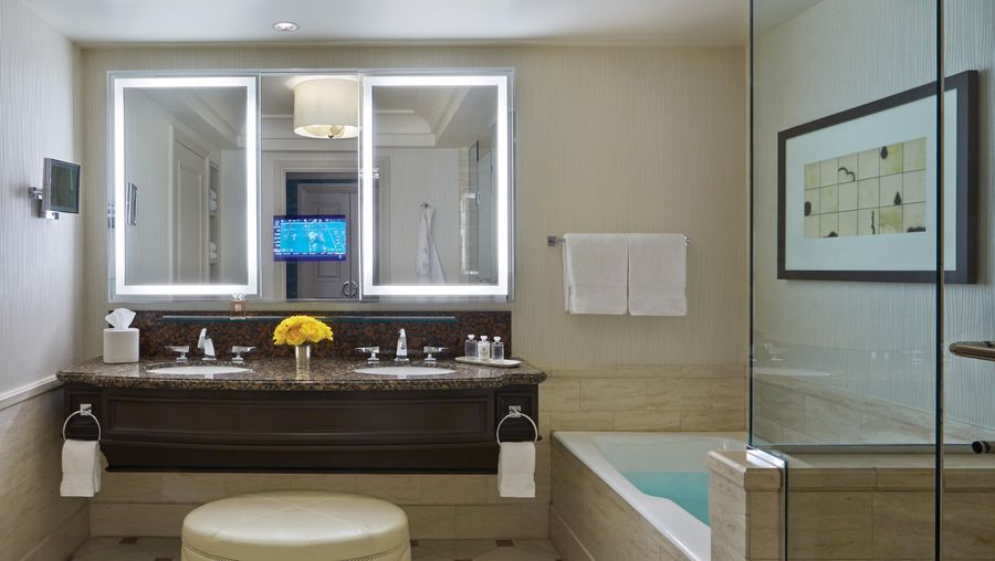 Four Seasons Bathroom Las Vegas Bathroom Vanity Lighting Hotel Bathroom Mirror Hotel Bathroom Vanity