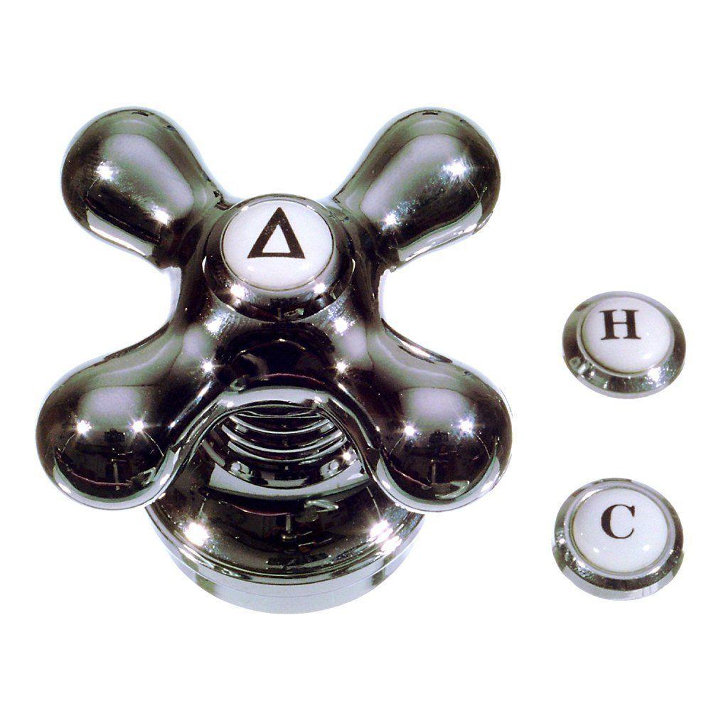 Danco Cross-Arm Faucet Handle, Chrome, 46006 - Faucet Handles ...