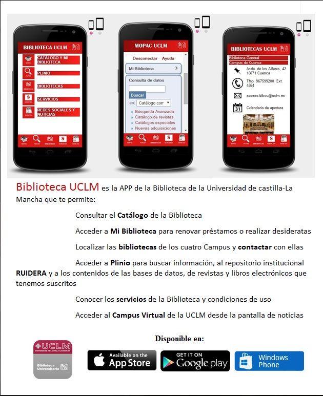 App Biblioteca UCLM