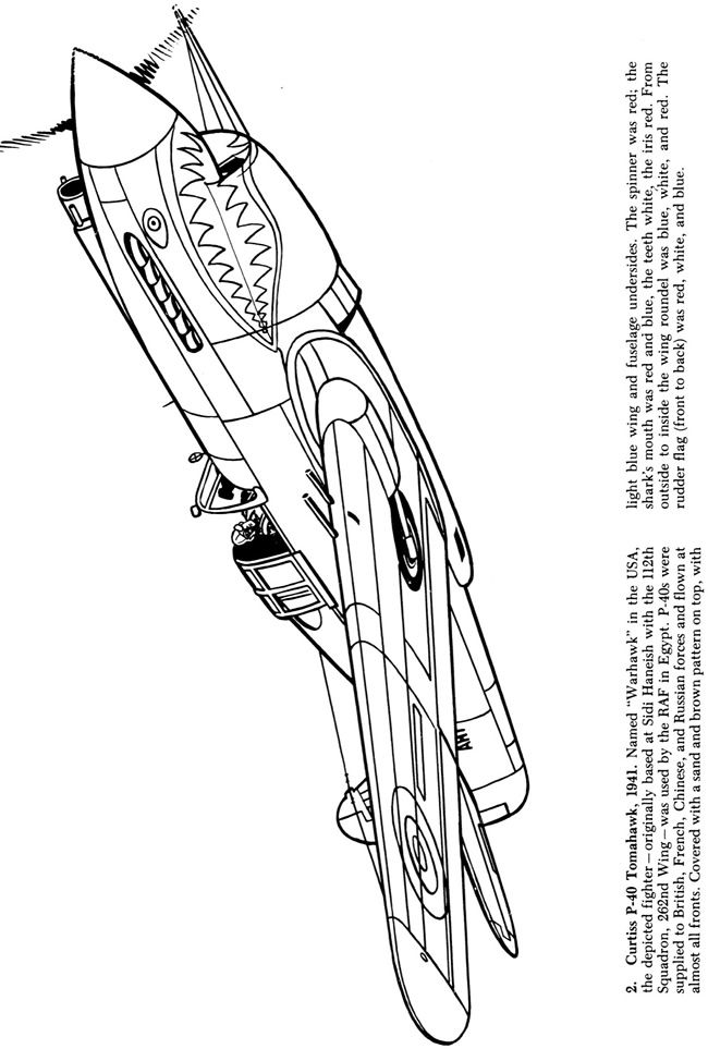 Welcome To Dover Publications Airplane Coloring Pages Wwii Aircraft Coloring Pages