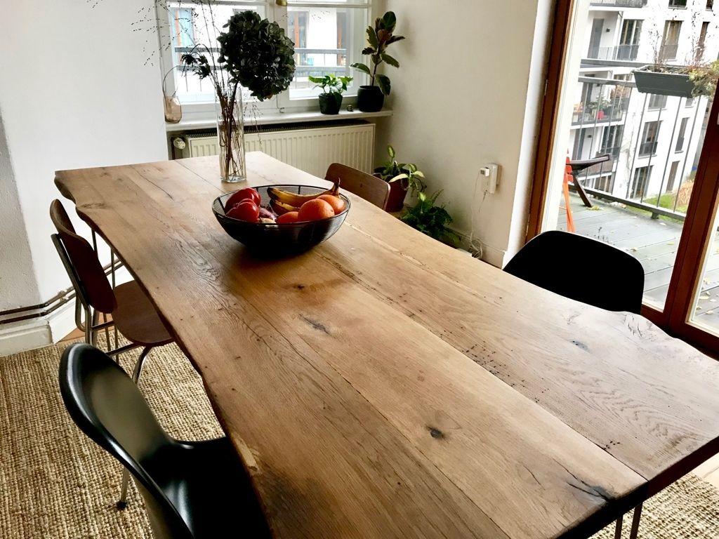 Wunderschöner Großer Esstisch Aus Echtholz   Ein Besonderes Möbelstück.  #Tisch #Esstisch #Küche