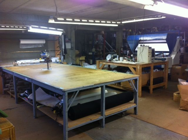 Huge Cutting Table   Google Search | My Workspace | Pinterest | Cutting  Tables, Workspaces And Room Ideas