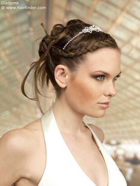 intricate upstyle for a princess look