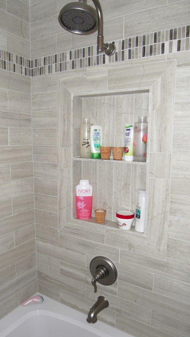 Please Show Me Your Favorite Shower Niche Picture Bathrooms Forum Gardenweb Washroom Decor Bathroom Design Bathroom