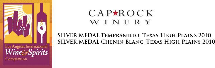 Tempranillo and Chenin Blan won silver!