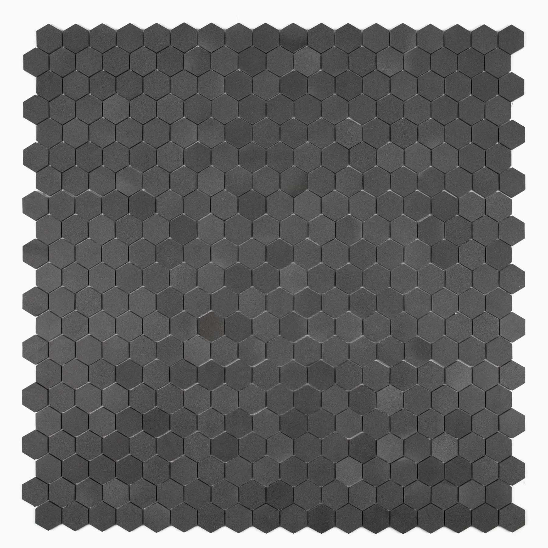 Cooper 10 Pack Hexagon Mosaic Wall And Floor Tile Young Lava Stone Hexagonal Mosaic Wall And Floor Tiles Mosaic Wall