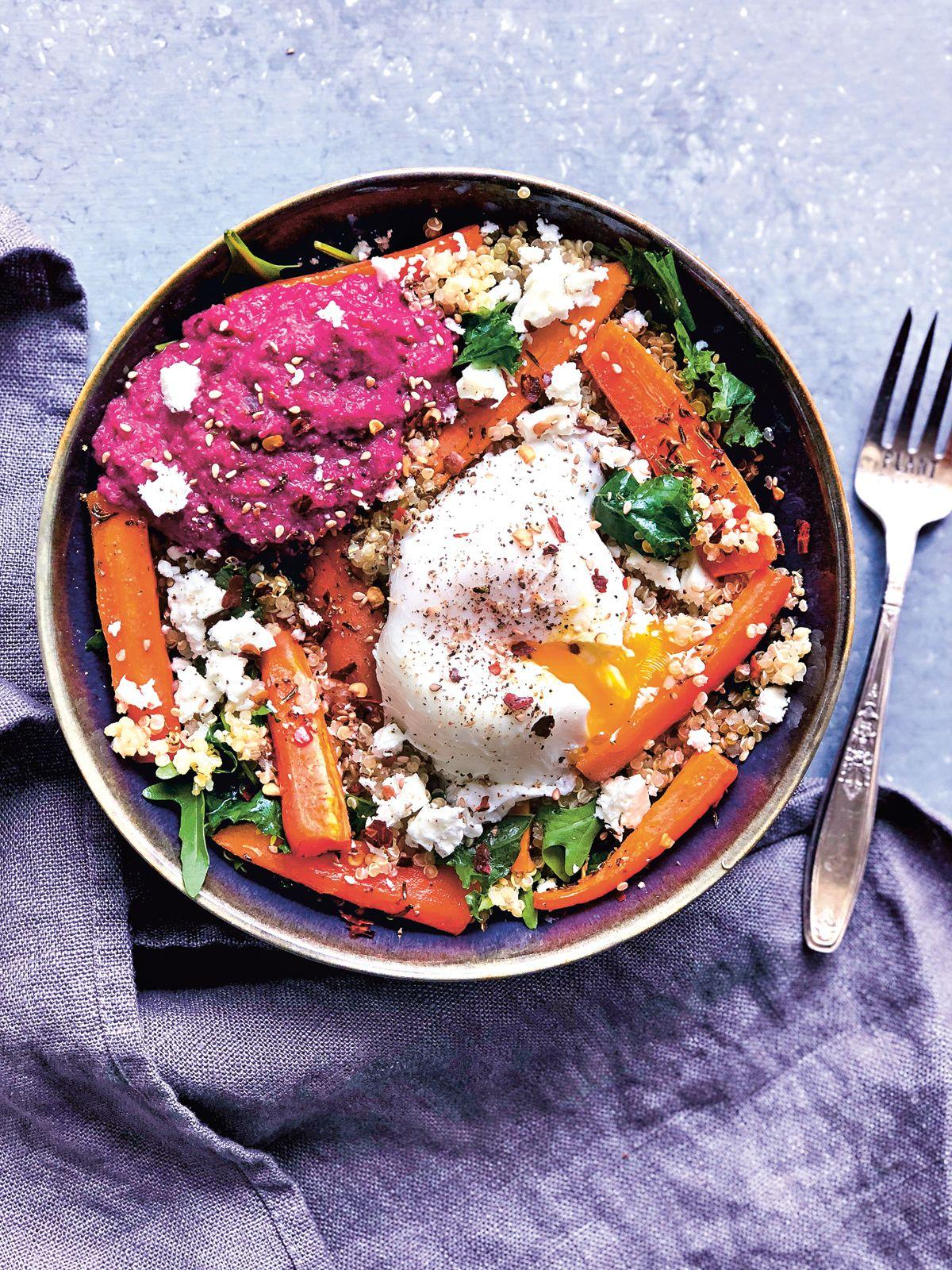 Recette : une salade d'automne parfaite pour un déjeuner sain