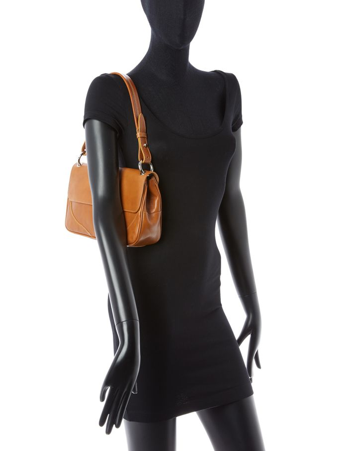 Giovanna Furlanetto Leather Shoulder Bag from Furla on Gilt