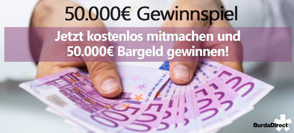 Gewinnspiel Gratis Gewinnen Sie 50 000 Bargeld Gewinnspiel Spiele 50er