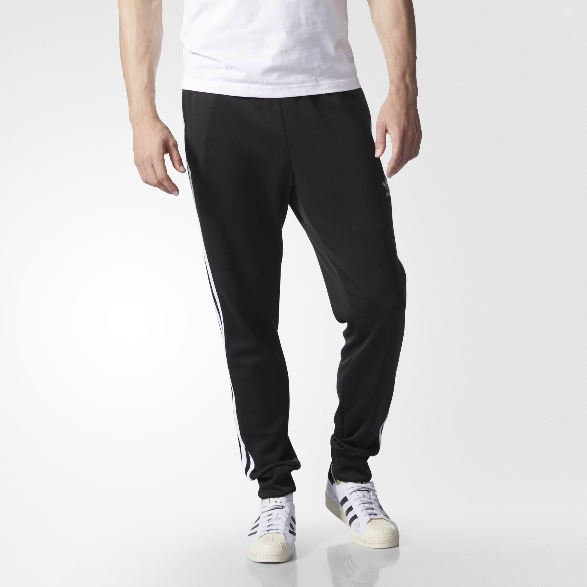 443a46de40 SST Cuffed Track Pants | Things I want | Men trousers, Adidas, Pants