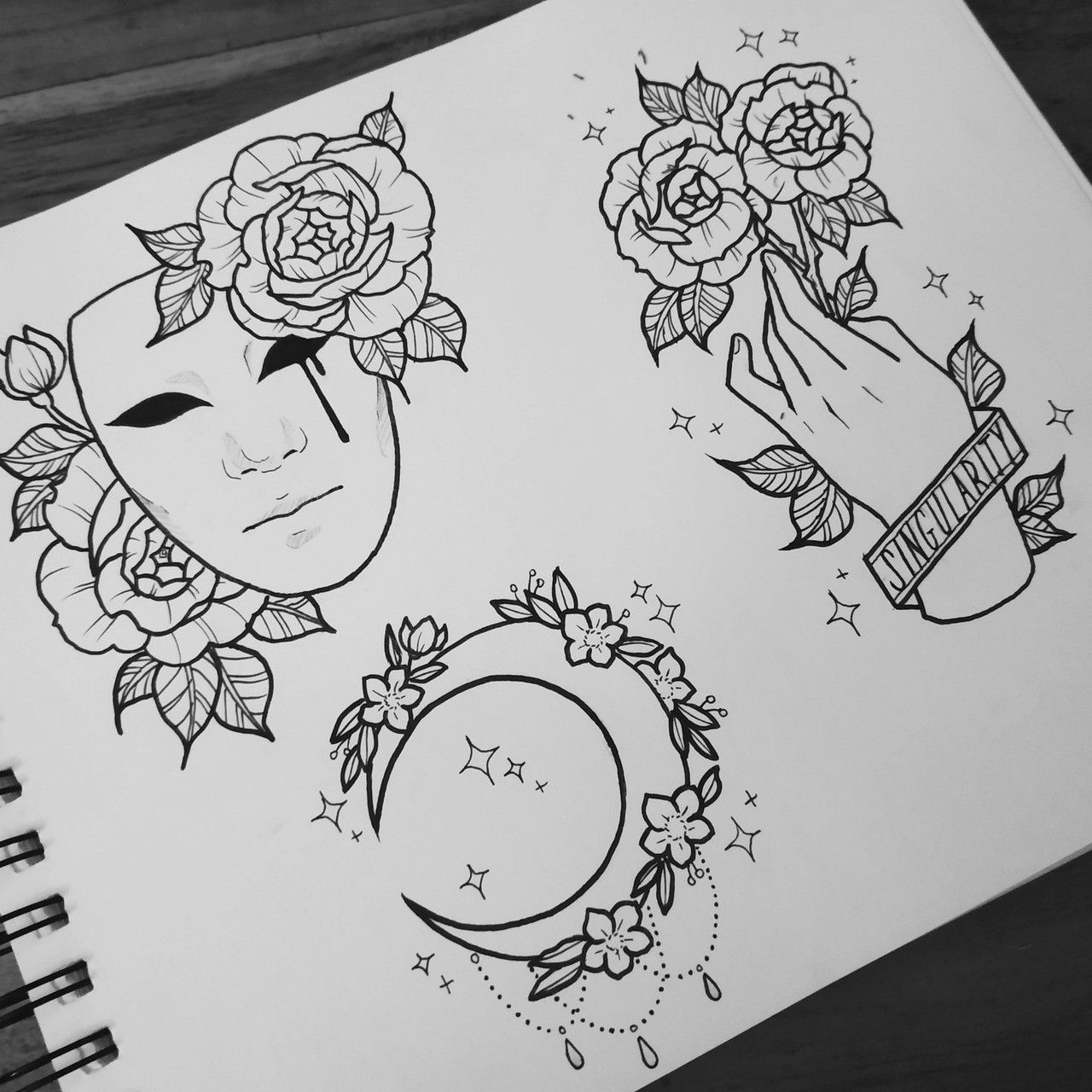 Картинки эскизы для срисовки в скетчбук