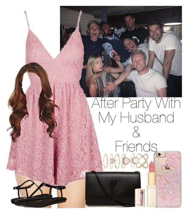 """»After Party With My Husband & Friends."" by storyofmylife1danita-scream ❤ liked on Polyvore featuring Wildfox, Topshop, Yves Saint Laurent, Nine West, Skinnydip, L'Oréal Paris and Accessorize"