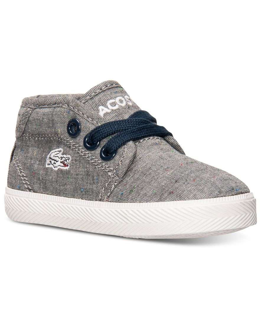 f2742b13 Lacoste Toddler Boys' Ampthill SEG2 Casual Sneakers from Finish Line ...