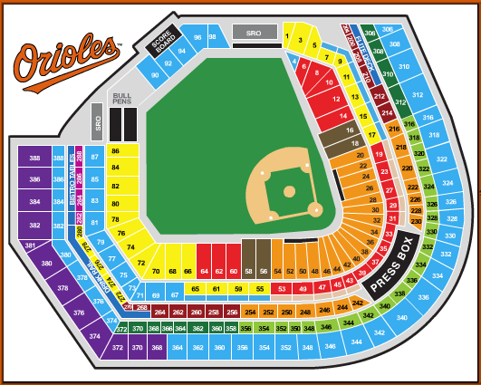 Oriole Park At Camden Yards Best Seats In The House Baltimore Orioles Orioles Baltimore Orioles Baseball