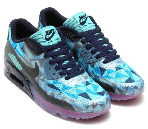 Nike Air Max 90 ICE 'Barely Blue' (Detailed Pictures   Nike